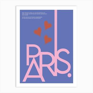 The Paris Art Print
