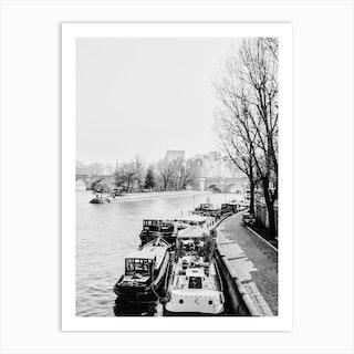 Streets Of Paris 2 Art Print