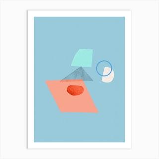 Collage Study Art Print