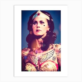 Wonder Woman 1 Art Print
