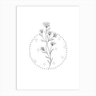 Botanical Magic 3 Art Print