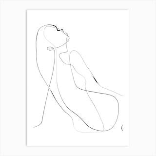 Kroki Art Print