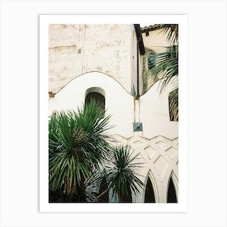 Architecture Of Amalfi Art Print