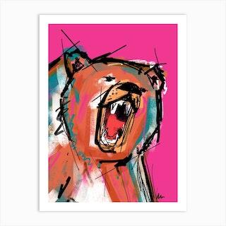 Bear Art Print