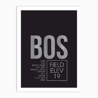 Bos Atc Art Print