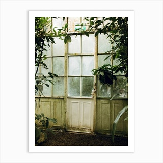 The Greenhouse Gateway Art Print