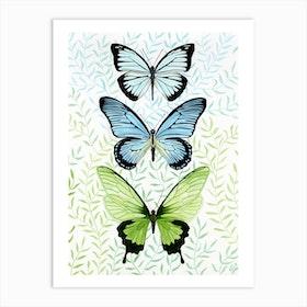 Winged Trio Art Print
