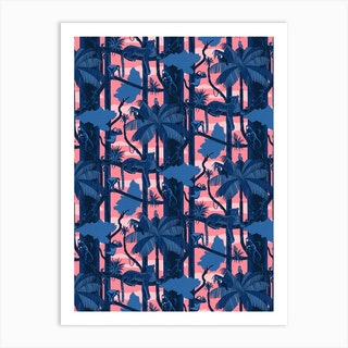 Make It Rainforest Pink Art Print