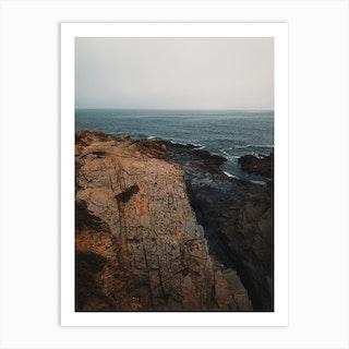 Ocean Shores Ii Art Print