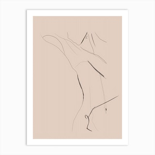 Life Drawing  Art Print