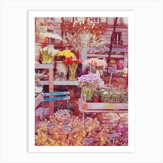Flowers Boutique Art Print