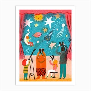 Screenprint Star Theatre Art Print