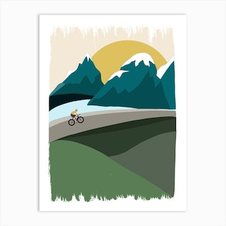 Mountain Ride Art Print