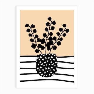 Eucalyptus Mustard Art Print