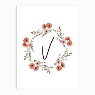 Wild Flower V Art Print
