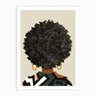 Black Art Matters Art Print