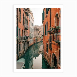 Venice Canals In The Early Morning Art Print
