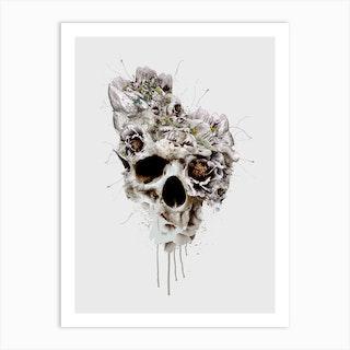 Skull Castle Art Print
