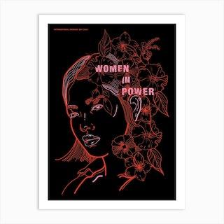 Women In Power Art Print