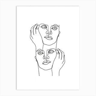 Lost Thought Art Print