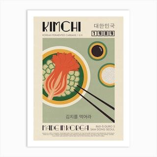 The Kimchi Art Print