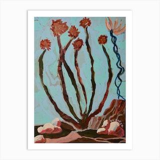 Ocotillo Art Print