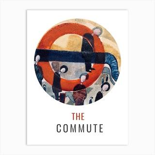 The Commute Spyhole Art Print