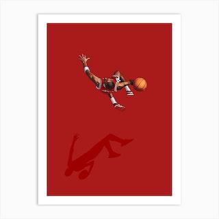 Frequent Fliers Jordan Art Print