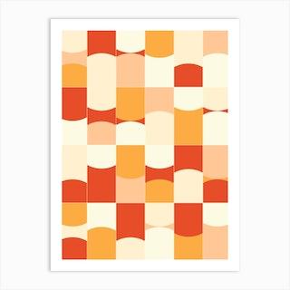 Vivid Tiles 02 Art Print