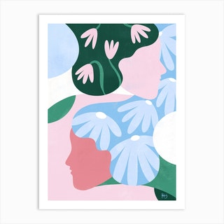 Women With Vision 3 Art Print