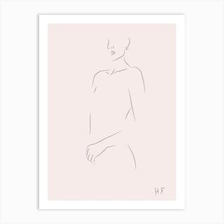 Nude Series 05 Art Print