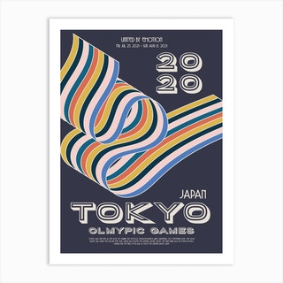 Tokyo 2020 Olympic Art Print