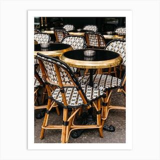 Paris Cafe VII Art Print