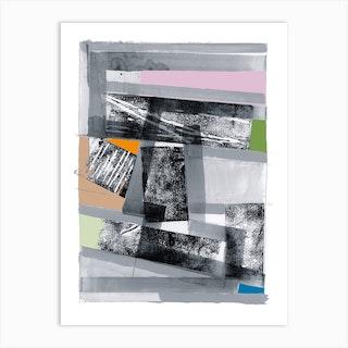 Black Multi 80s One Art Print