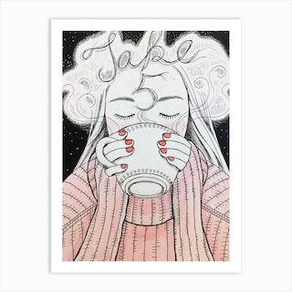 Take 5 Art Print