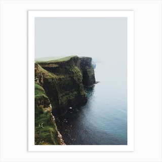 Cliffs Of Moher Ireland V Art Print