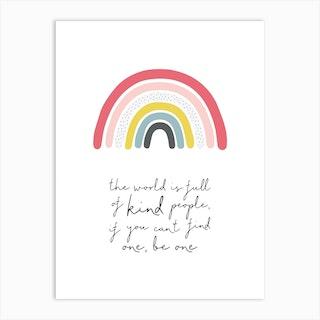 Kind People Art Print
