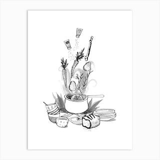 Stew Art Print