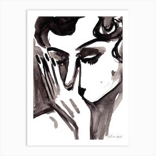 Desole Art Print