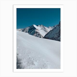 Powder Snow Art Print