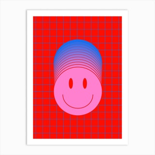 Smiley 1 Art Print