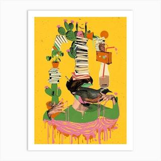 Surreal Knowledge Art Print