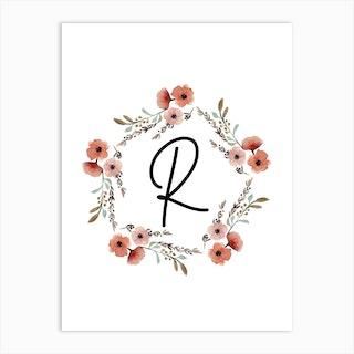 Wild Flower R Art Print