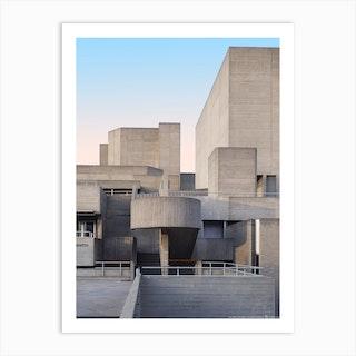 The Royal National Theatre Art Print