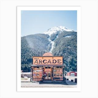 The Arcade Art Print