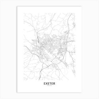 Exeter Art Print