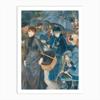 The Umbrellas, Pierre-Auguste Renoir Art Print