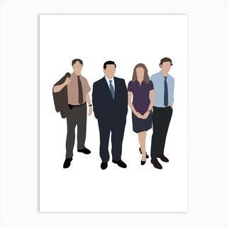 The Office Us Art Print