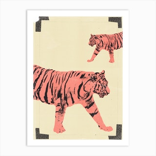 Animals Tiger Art Print