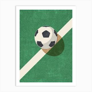 Balls Football Art Print